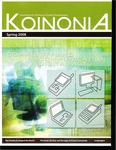 Koinonia by Rick Zomer, David Johnstone, Tim Elmore, Gene C. Fant Jr., Edee Schulze, Connie Sjoberg, Mike Broberg, David A. Kennedy, Nicole Hoefle, Michael Santarosa, Stephanie Santarosa, Jason M. Morris, and Heidi Johnston