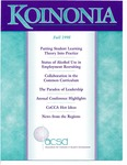 Koinonia by Skip Trudeau, Tim Johnson, Brent D. Ellis, and Mary Jayne Allen