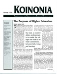 Koinonia by Miriam Sallers, Ron L. Coffey, Becky Leithold, and Dennis W. Perry Jr.
