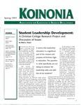 Koinonia by Mark J. Troyer, Brent Ellis, Dan Vander Hill, M. Lee Upcraft, and John H. Schuh