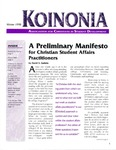 Koinonia by David S. Guthrie, Jeff Doyle, Brad Bowser, and Steven Garber