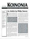 Koinonia by Melissa Schermer, Steve Moore, and Alan Mula
