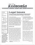 Koinonia by Paul Lowell Haines, Miriam Sallers, Jessica McCoskey, Cecilia Delve Scheuermann, Heather M. Helms-Erikson, and Dana Alexander