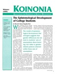 Koinonia by Marcia B. Baxter Magolda, Rob Thompson, and Becky Leithold