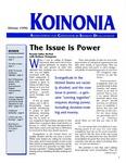 Koinonia by Brenda Salter McNeil, Erick B. Mowery, and Michael Sanders