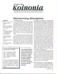 Koinonia by Stephen Beers, Melinda Moers, and Linda Cummins