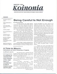 Koinonia by Jinny De Jong, Michael Lastoria, Al Cureton, George D. Kuh, John H. Schuh, Elizabeth J. Whitt, Mark Troyer, and Tim McKinney