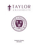 Taylor University Catalog 2015-2016