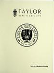 Taylor University Catalog 2009-2010 by Taylor University