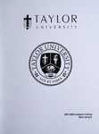 Taylor University Catalog 2007-2008