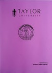 Taylor University Catalog 2006-2007