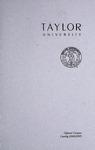 Taylor University Catalog 2004-2005
