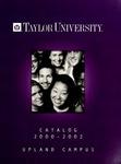 Taylor University Catalog 2000-2002