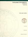 Taylor University Catalog 1994-1996