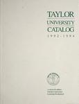 Taylor University Catalog 1992-1994