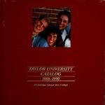 Taylor University Catalog 1988-1990