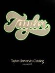 Taylor University Catalog 1982-1984