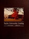 Taylor University Catalog 1979-1981 by Taylor University