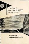 Taylor University Bulletin 1959-1961