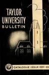 Taylor University Bulletin 1957-1959