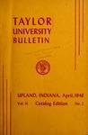 Taylor University Bulletin 1948