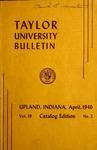 Taylor University Bulletin 1946