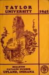 Taylor University Catalog 1945 by Taylor University