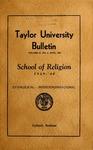 Taylor University Bulletin 1939