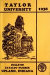 Taylor University Bulletin 1938