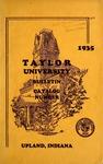 Taylor University Bulletin 1935