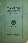 Taylor University Bulletin 1930