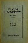 Taylor University Bulletin 1928