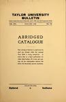 Taylor University Catalog (Abridged) 1928 by Taylor University