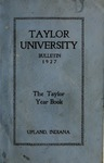 Taylor University Catalog 1927 by Taylor University