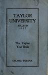 Taylor University Bulletin 1927