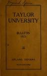 Taylor University Bulletin 1923