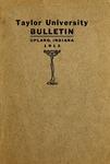 Taylor University Bulletin 1913