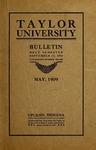 Taylor University Bulletin 1909
