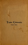Catalogue of Taylor University 1904-1905