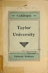 Catalogue of Taylor University 1903-1904