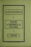 Catalogue of Taylor University 1902-1903 by Taylor University
