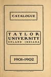 Catalogue of Taylor University 1901-1902
