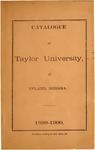 Catalogue of Taylor University 1899-1900