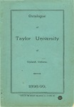 Catalogue of Taylor University 1898-1899