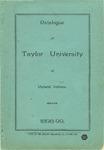 Catalogue of Taylor University 1898-1899 by Taylor University