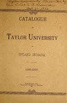 Catalogue of Taylor University 1895-1896