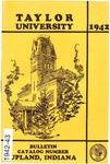 Taylor University Catalog 1942 by Taylor University