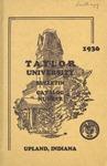 Taylor University Catalog 1936 by Taylor University