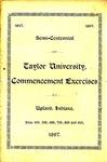 Semi-Centennial of Taylor University Commencement Exercises