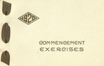 1920 Commencement Exercises